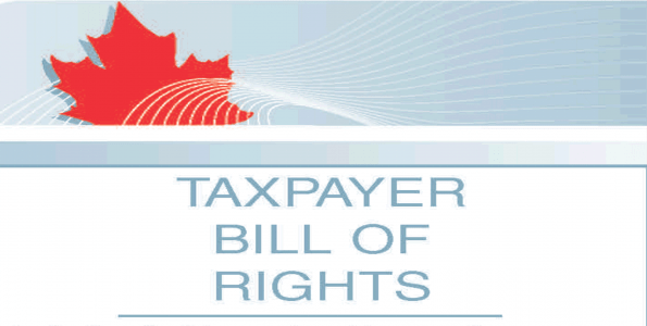 Taxpayers bill of rights