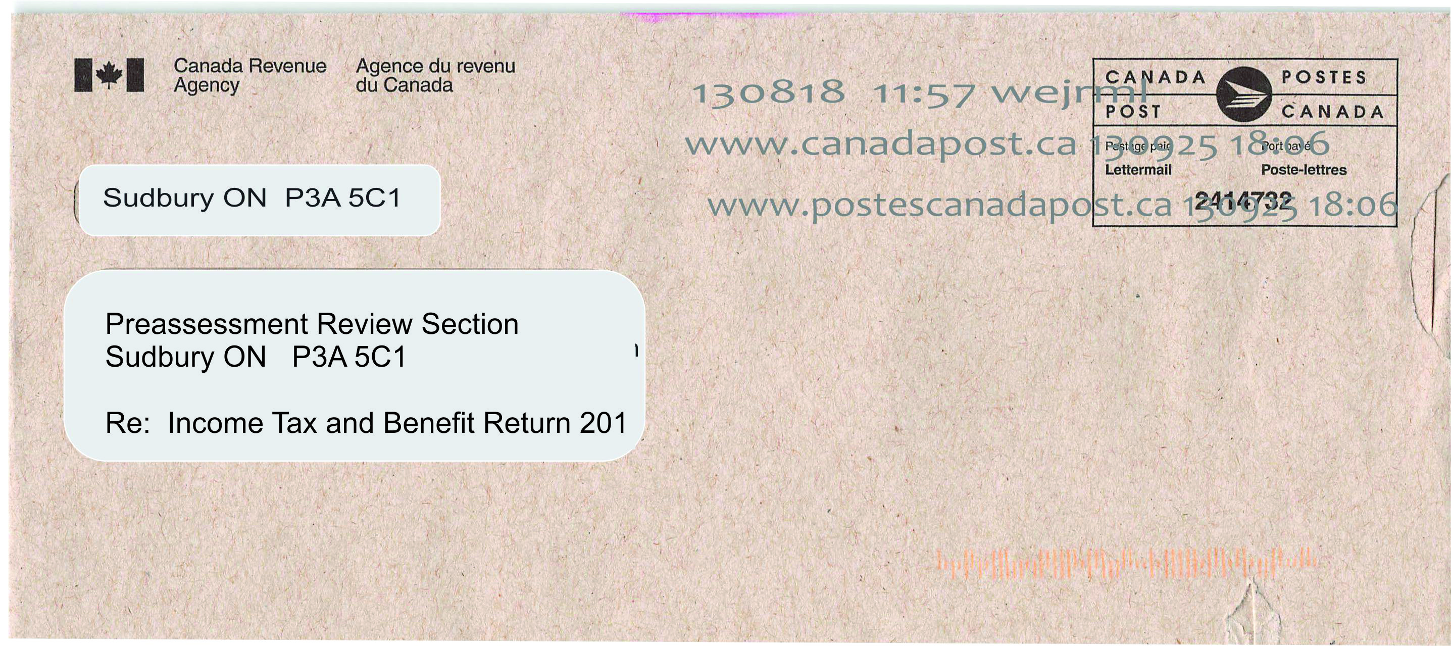What kind Of Contact Does the CRA Make with Tax Payers